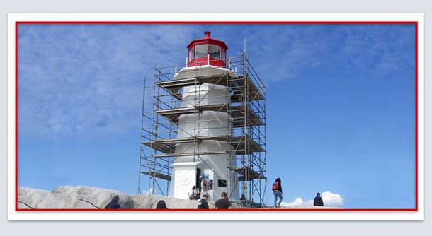 beach lighthouse renovation